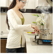 1PC Kitchen Protector Cook Mask Oil Spill Splash Splatter Screens for Cooking Face Shield Tools OK 0575