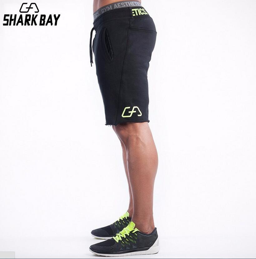 2019 Summer Quality Black Slim Cotton Men Golds Brand Shorts Mens Professional Short Big Size Bermudas Masculina De Marca