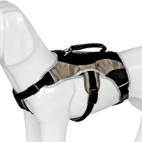 Quick Control Outdoor Training Pet Harness Nylon Reflective Adjustable Strong Chest Strap Dog Vest Harnesses For