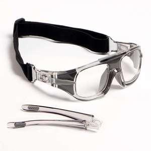 Image 3 - Eagwoo למבוגרים חיצוני ספורט כדורסל כדורגל משקפיים כדורעף טניס משקפי להסרה מקדש מרשם עדשות עביד