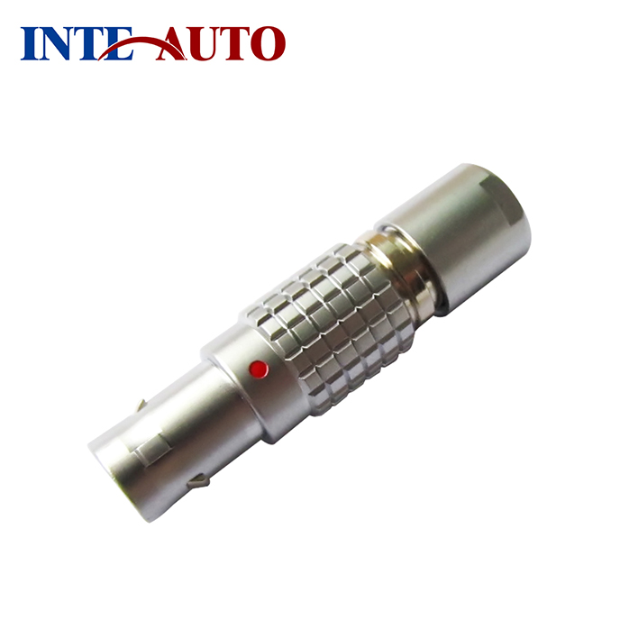 Compatible with lemos Plug,2,3,4,5,6,7,9 pins,M9 metal push pull connector,cross LEMO 0B series,without strain relief lemo connector 2 pin ffa 0s 302 era 0s 302 lemo plug self locking connector plug socket