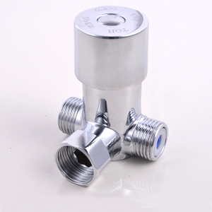 Hot Cold Water Valve Faucet Temperature Adjustable Thermostatic Mixer Mixing Valve Tap for Bathroom Shower Head Faucet Tap(China)