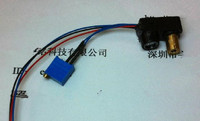 Free Shipping! 1pc laser sensor Black and white lines tracing photoelectric switch diffuse visible light sensor 5V