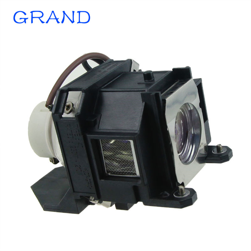 GRAND Module Replacement Projector Lamp V13H010L40 / ELPLP40  for EMP-1810/EMP-1815/EMP-1825/EB-1810/EB-1825  With Housing