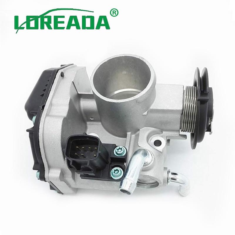 LOREADA 96332250 Throttle Body Assembly For Chevrolet Aveo T250 T200 Daewoo Kalos 1 2 B12S1 2005