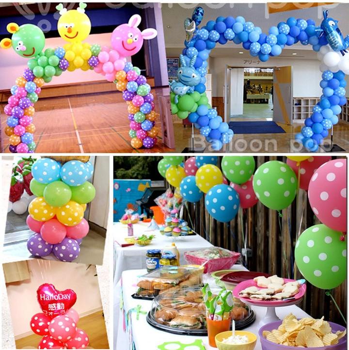 Украшение для вечерние 12 дюймов латексные воздушные шары Свадебные с днем рождения Baby Shower миньвечерние оны вечеринок