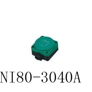 Inductive Proximity Sensor NI80-3040A NPN 3WIRE NO DC6-36V Detection distance 40MM Proximity Switch sensor switch 3p aviation connector 2 wire dc 6 36v npn no 8mm inductive proximity switch