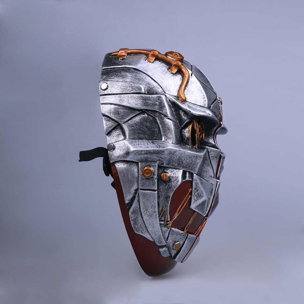Fancycose Ditolak Masker Corvo Attano Masker Cosplay Kostum Helm Resin Halloween Hadiah Topeng Kualitas Tinggi