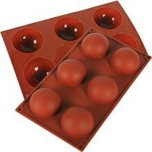 シリコンケーキ型マフィンチョコレートクッキー金型ハーフボール球ケーキメーカー手作り耐熱皿 DIY ベーキングツール #10