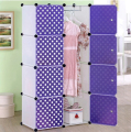 Simple wardrobe child clothing combination storage cabinet toy storage cabinet polka dot