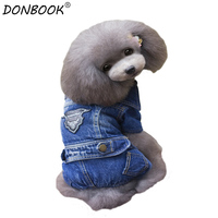 New Arrival Jeans Clothes Pet Dog Animal Pattern For Pets Lesuire Jumpsuit Coat Clothing For Dogs