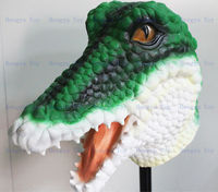 Deluxe Realistic Animal Mask Over Head Size For Adult's Party Halloween Popular Crocodile Costume Mask