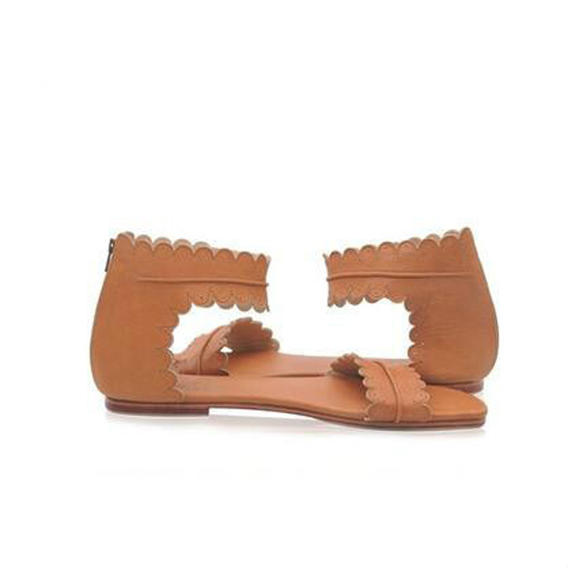 Womens-Summer-Sandals-Flat-Ankle-Strap-Casual-Shoes-Back-Zipper-Zip-up-Fashion-Footwear-AB17 (5)