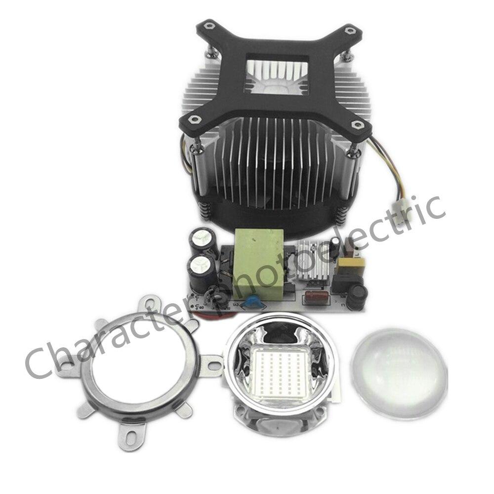 50W LED 50 Watt 395-400nm UV Ultra Violet High power LED +50W AC85-265V driver +heatsink lens Kit