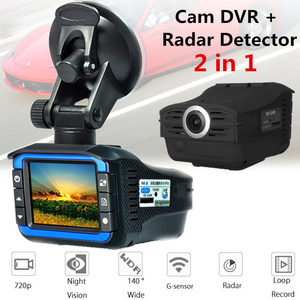 2in1 Camera Video HD 720 P Auto DVR Detector Camera Video Recorder Dash Cam Radar Laser Speed Detector Good Quality