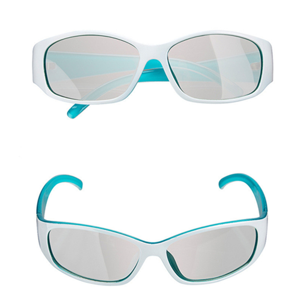 2pcs Adult Passive Polarized 3D Glasses For Passive 3D TV's From SONY,LG,Vizio,Toshiba&LG - For Use In Real-D 3-D Theaters