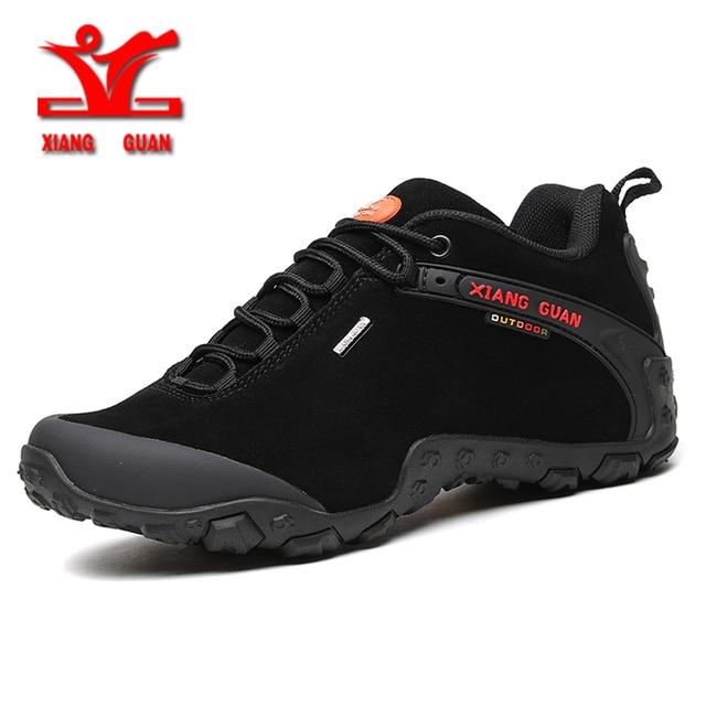 xiangguan 2017 spring men outdoor hiking shoes anti slip sport shoes resistant Sneaker man trekking shoes for men or woman 36-48