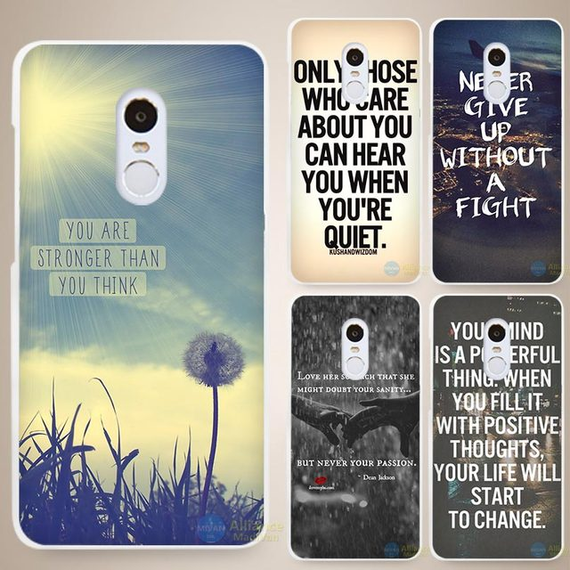 Cell Phone Quotes Extraordinary Quote Design Inspirational Phrase Hard White Cell Phone Case Cover