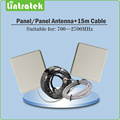 700~2700MHz Outdoor/indoor Panel Antenna+ 15m Cables for 2G 3G 4G CDMA GSM DCS PCS WCDMA LTE 2600mhz Mobile Phone Signal Booster