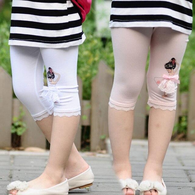 c3853bb5738be Short Leggings Girls Summer Pantyhose Infants Short Pants Clothing Girls  Brand Children Kids Elasticity Shorts Leggings Pants