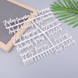 4Pcs/Set Characters For Felt Letter Board Numbers For Changeable Letter Board