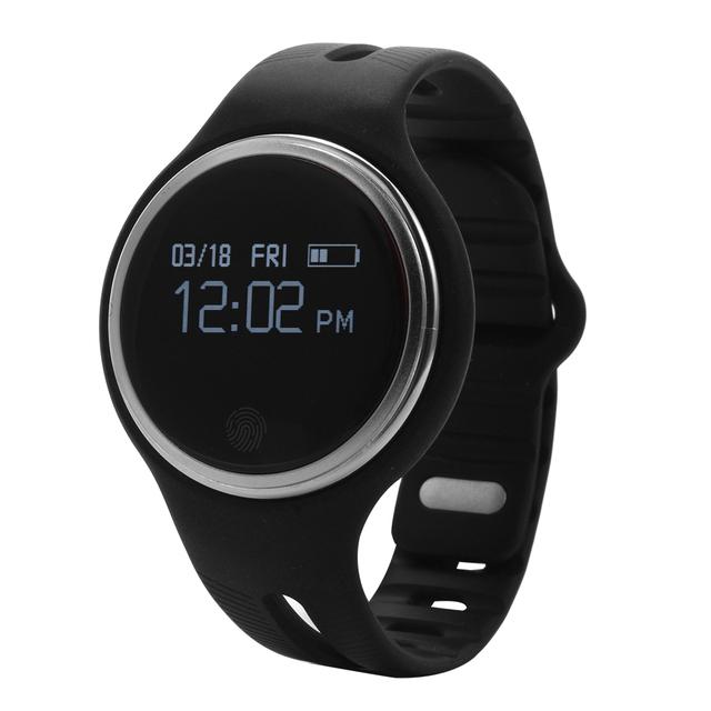Pulseira inteligente IP67 À Prova D' Água Esportes de Fitness Rastreador Bluetooth Pulseira Pedômetro Monitor de Sono para Android para IOS AC341/2