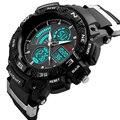 SKMEI Luxury Brand Men Sports Watches Dual Display Analog LED Digital Quartz Watch Fashion Student Swim Military Wristwatches