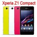 "Original sony xperia z1 compact d5503 teléfono móvil 4.3 ""3G 4G Desbloqueado Quad-Core 20.7MP WIFI GPS 2 GB RAM Reformado Teléfono Móvil"