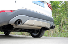 Car Styling for BMW E21 E30 E36 E46 E90 E91 E92 E93 F30 320i  M Power LOGO Car Exhaust Pipe Muffler Tip Turbo Sound Whistle Auto
