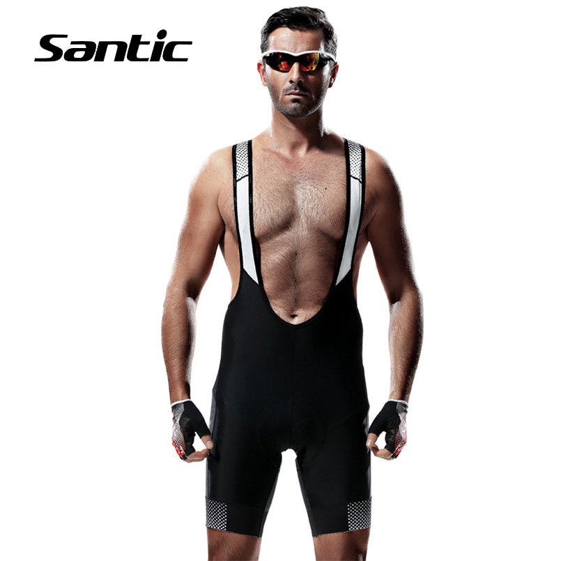 SANTIC Cycling Shorts Summer Pro 4D Coolmax Padded Road Mountain Bicycle Bike Shorts Breathable Downhill Clothing MTB Shorts