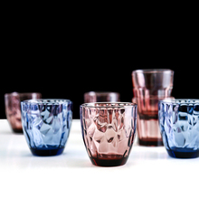 6 pcs set vintage Multicolour wine glass Handmade Colorful Water cup Beer Glass red Wine Cup Creative Glasses Whiskey