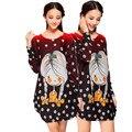 Осенние и зимние модели взрыва, мультфильм длинный рукав, женские кофты с длинными рукавами дресс-код, беременных женщин юбка