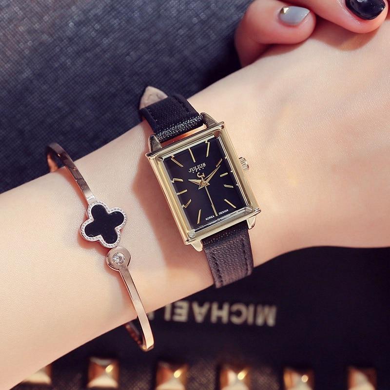Top oryginalny JULIUS 787 kobiety moda casual zegarek kwarcowy panie - Zegarki damskie - Zdjęcie 6