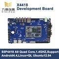 ARM Cortex-A9 Quad-Core X4418V3 Development Board s5p4418 (1GB DDR3 8GB emmc)+ 7 inch LCD