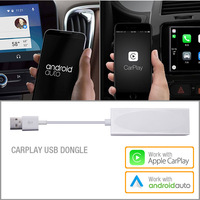 USB Dongle Work With Apple iOS CarPlay Android Auto For Car Android System Headunit Navigation DVD Player radio