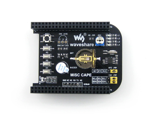 US $12 45 11% OFF|Beaglebone Black Rev C 512MB 1GHz ARM Cortex A8  Development Kit Expansion Board Cape for Various Components and  Functions-in Demo