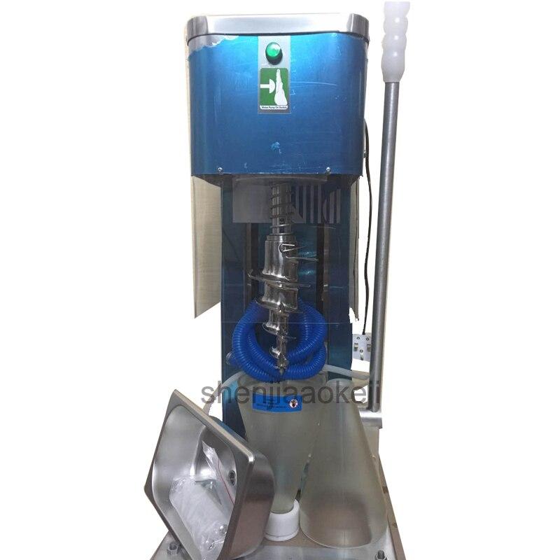 Commercial fruit soft Ice Cream Maker ice cream machine Stainless Steel sweet cone machine yogurt ice cream machine 750W 1pc