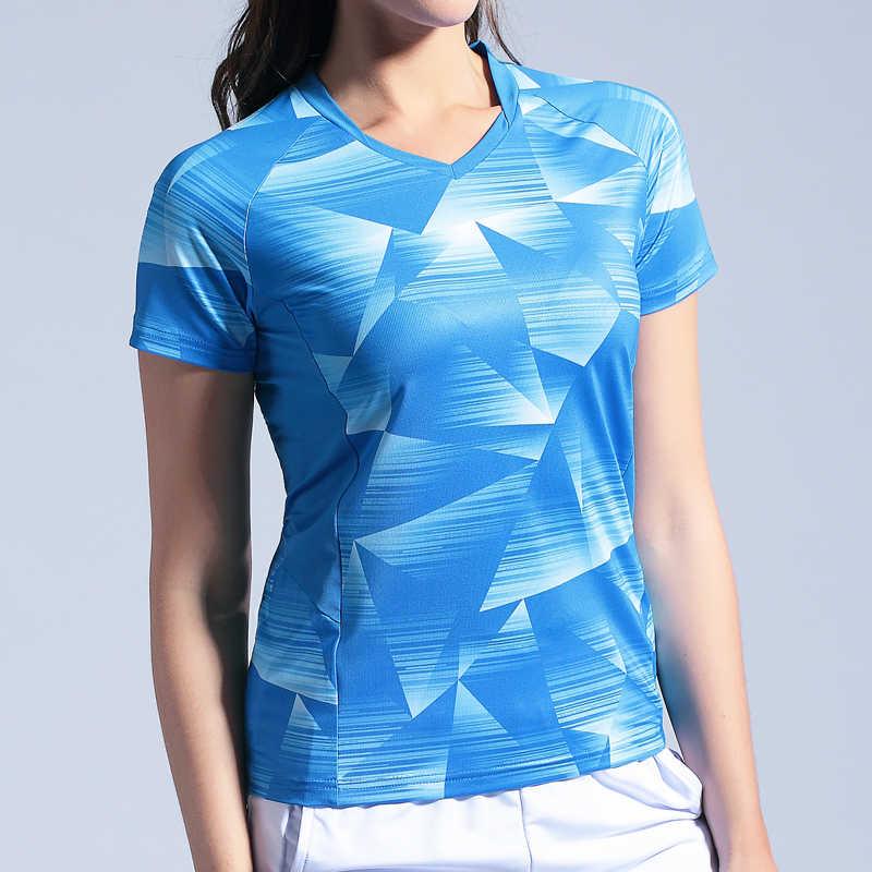 Теннисные майки для мужчин женщин Спорт на открытом воздухе костюмы бадминтон рубашки для мальчиков рубашка с короткими рукавами бег футболка для тренировок