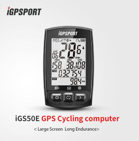 IGPSPORT IGS50E Vtt Ordinateur De Vélo GPS Étanche IPX7 ANT + Sans Fil Vélo Compteur De Vélo Numérique Chronomètre Accessoires