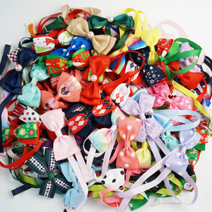 (100 pieces/lot) Cute Dog Bow