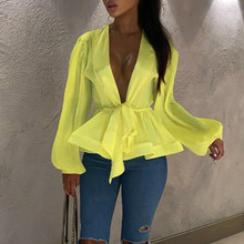 Neon Clothes For Women Hipster Streetwear Sexy Tee Shirts V-Neck 2019 Summer Fashion Star Tops Solid