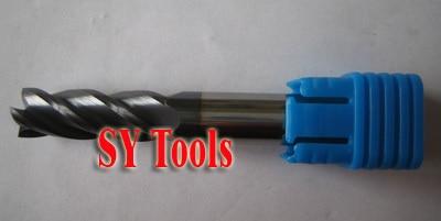 10mm Four Flutes Spiral Bit Milling Tools Carbide CNC Endmill Router bits hrc55