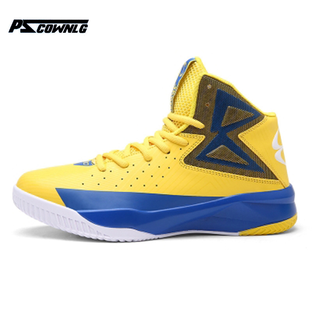 Super Hot High Top Basketball Shoes Air Cushion Men Women Shoes