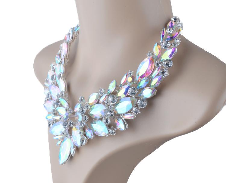 Jewelry Bridal earrings Necklace 12