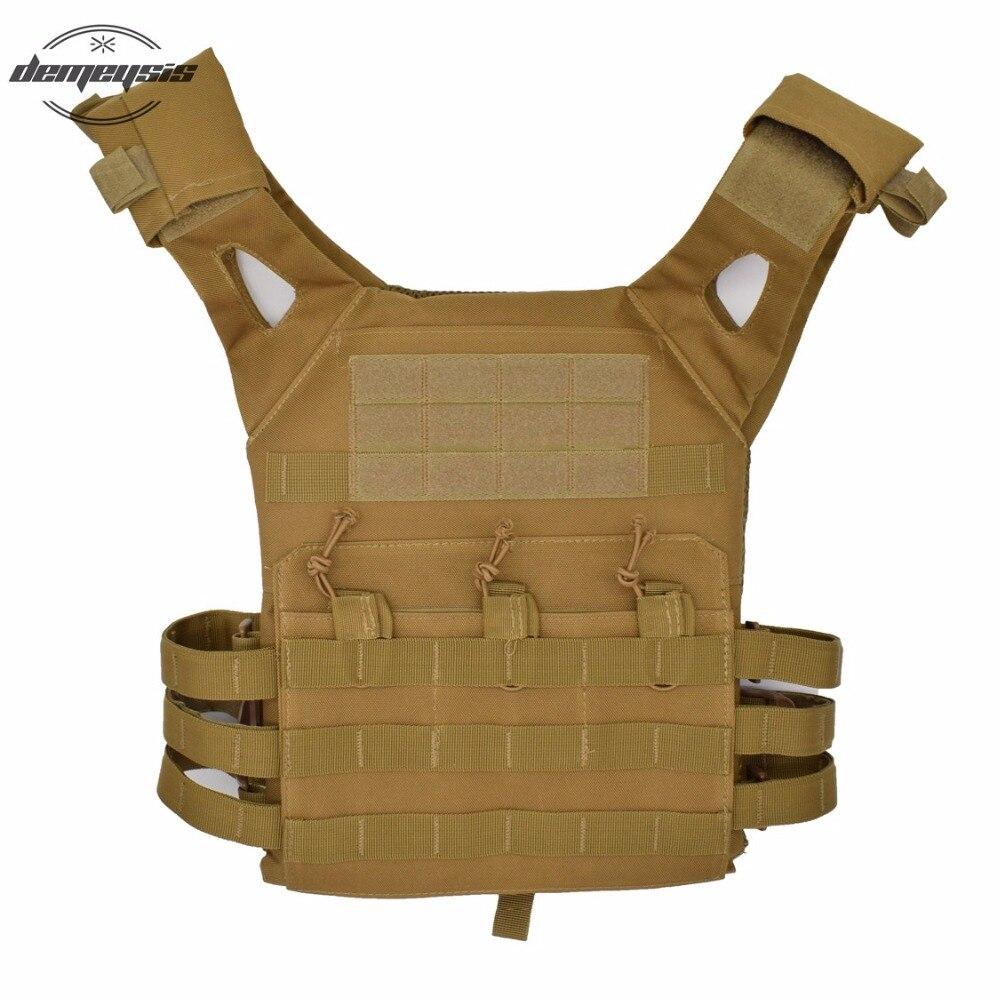 Outdoor CS Vest Military Equipment 500D Nylon Cloth J P C Tactical Molle Hunting Vest