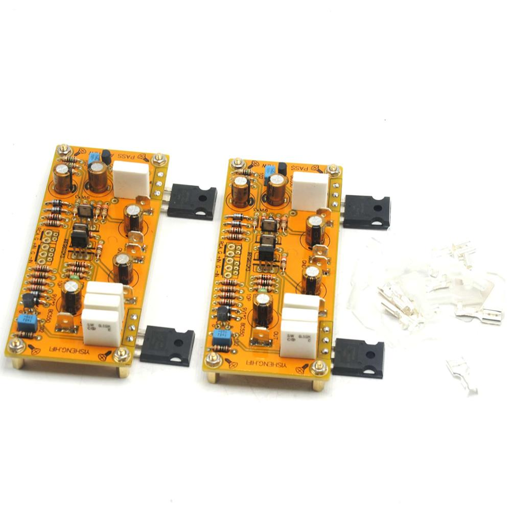 Image 3 - One Pair PASS AM single end Class A Amplifier Board Pre amp 10W 8ohms DC 18V 0V 18V-in Amplifier from Consumer Electronics