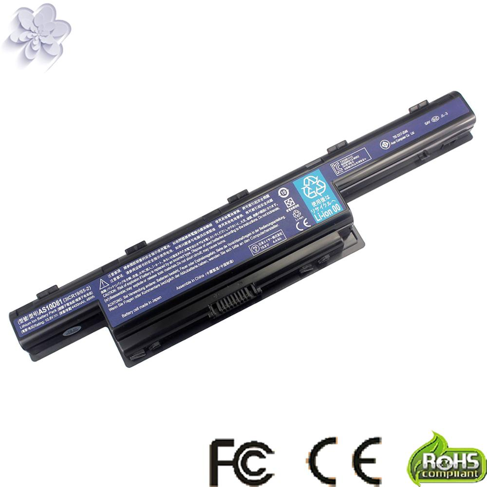 Battery For Acer Aspire V3 V3-471G V3-551G V3-571G V3-771G Series AS10D31 AS10D41 AS10D51 AS10D61 AS10D71 AS10D75 AS10D81