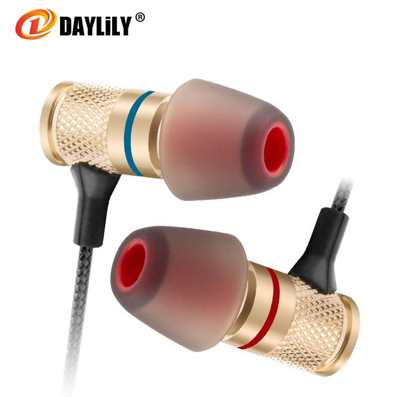 Daylily headphones Microphone music fone de ouvido Mobile phone auriculares Headset mp3 computer bass Earphone Dj Fashion metal цены онлайн
