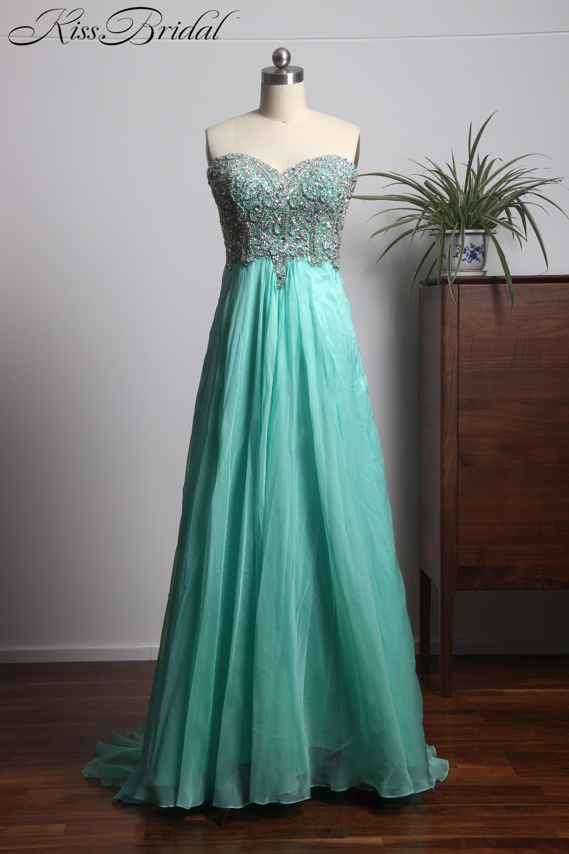 c57a608c08c76f New Design Long Prom Dresses 2018 Sweetheart Neck Off the Shoulder A-Line  Beading Chiffon Evening Dresses aibe