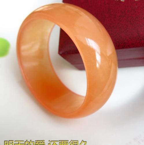 Koraba Fine Jewelry Chinas Unique Fashion Beautiful Naturalnes Orange, Jade Bangle Bracelet  Free ShippingKoraba Fine Jewelry Chinas Unique Fashion Beautiful Naturalnes Orange, Jade Bangle Bracelet  Free Shipping